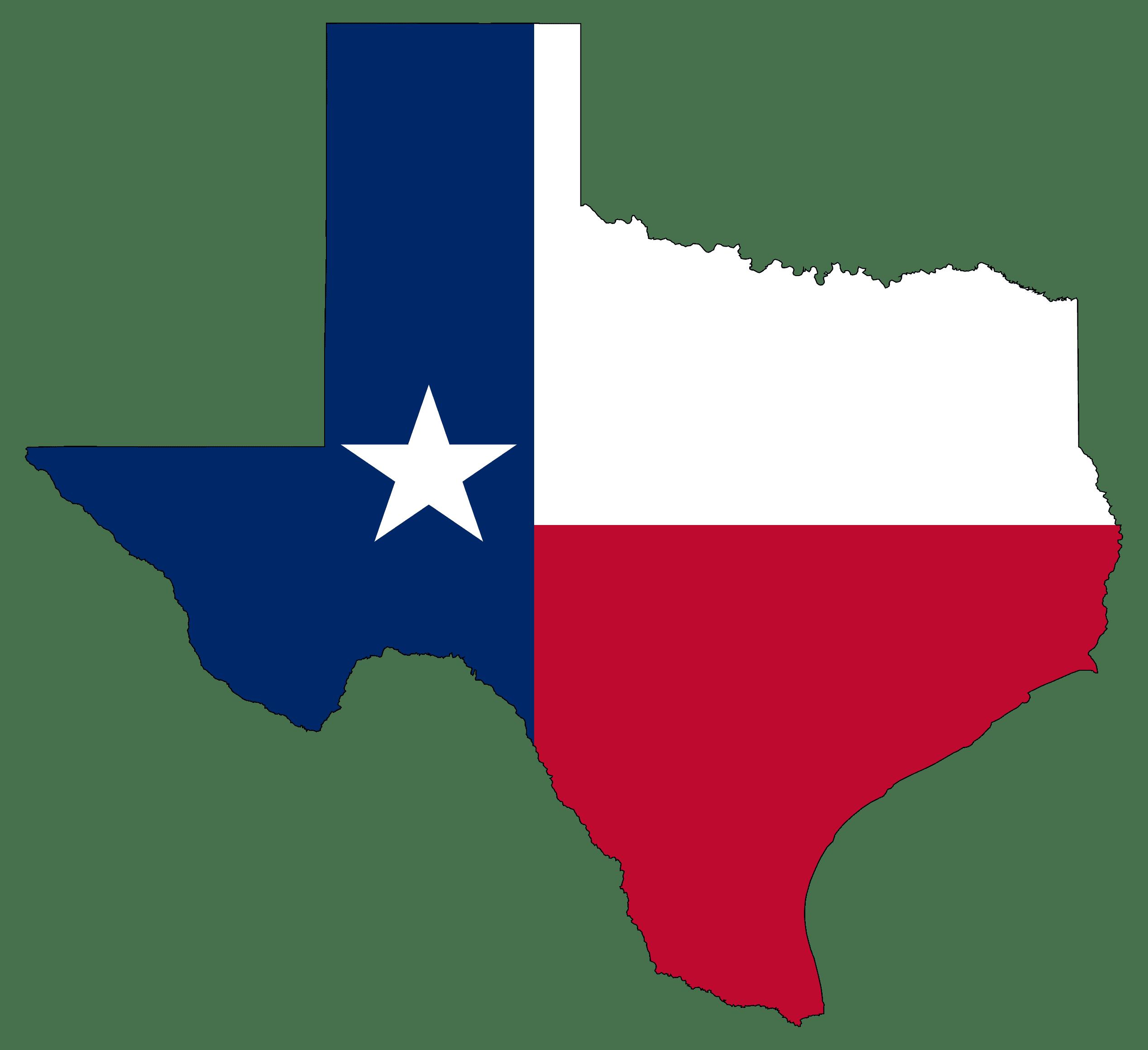 Texas Business Insurance Map Photo